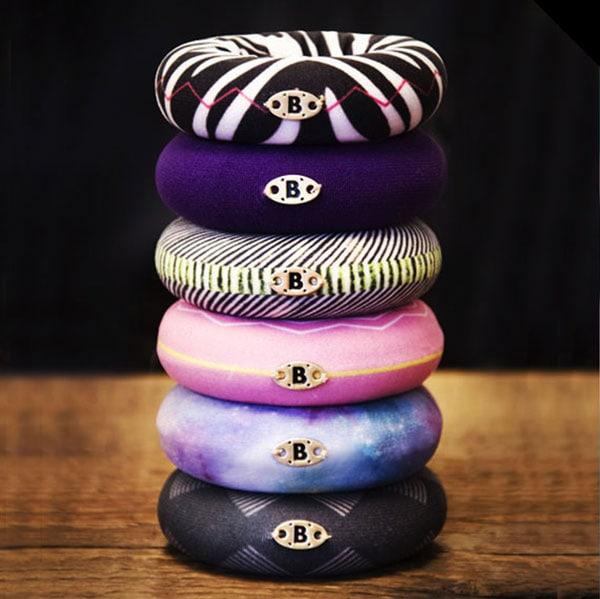Blackbun in zebra, galaxy, violet und wanted Design