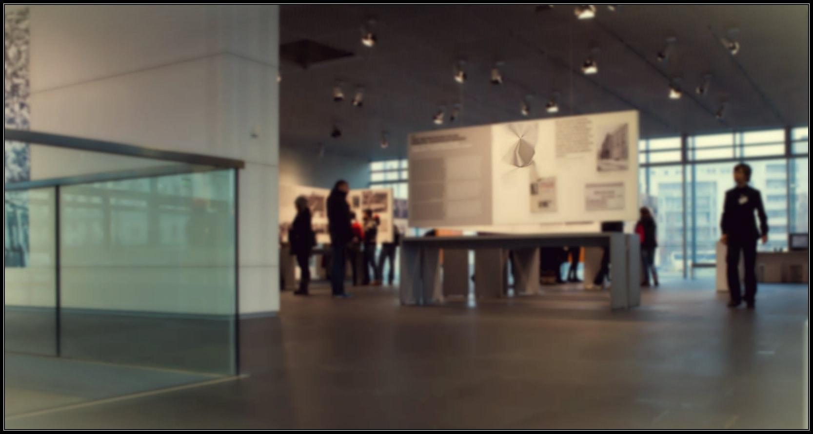 Ausstellung in Berlin im Herbst
