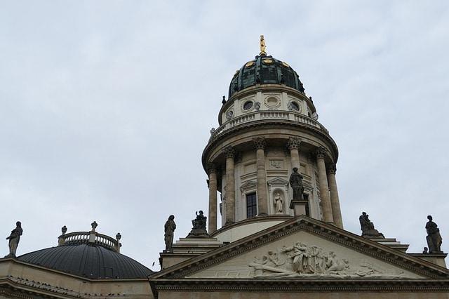 Der deutsche Dom als Alternative zum geschlossenen Brandenburger Tor Museum
