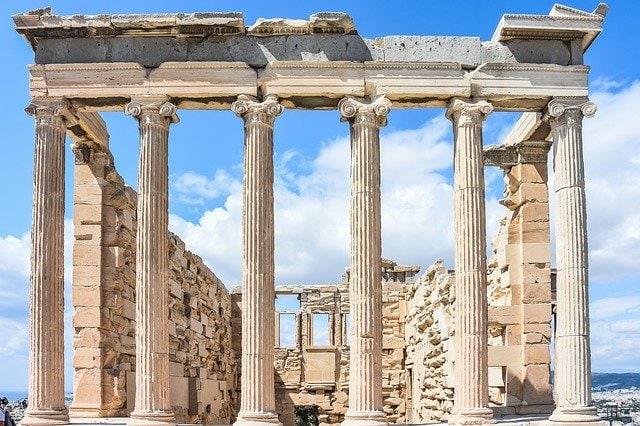 Griechische Akropolis diente als Inspiration für das Berliner Brandenburger Tor